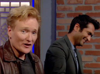 Conan Plays Shadow Of War With Comedian Kumail Nanjiani
