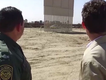 Illegal Immigrants Jump Fence As MSNBC Slams Wall Construction 😂😂😂