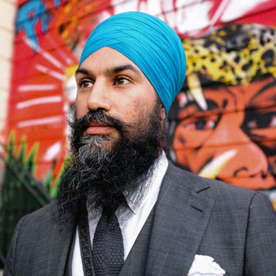 Jagmeet Singh Explains How Wearing A Turban Totally Changed His Life ❤️💪👳