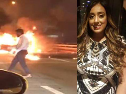 RIP Harleen Grewal: NYC Bucket Leaves Punjabi Woman To Die In Blazing Car 😓🙏🌹