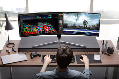 Samsung Unveils The Wildest Computer Monitor You Can Buy