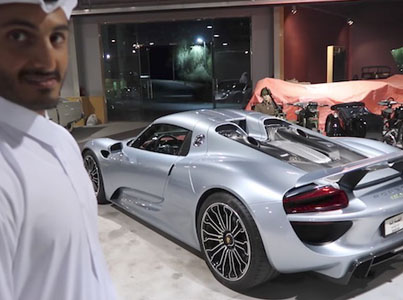 Take A Tour Of The Car Collection Owned By A Rich Arab Royal Family 🔥🔥