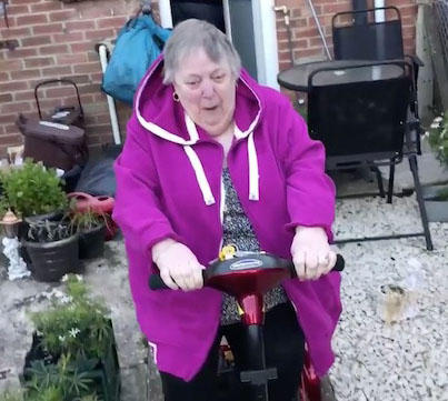 So Many Plot Twists: Teens Give Their Grandma A New Mobility Scooter 😭😭😭