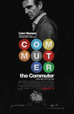 The Commuter (Starring Liam Neeson) (Official Movie Trailer)
