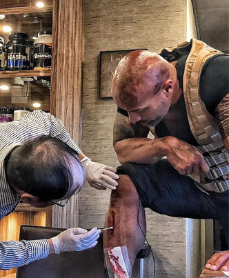 The Rock Ain't Got Time To Bleed 💪💪💪