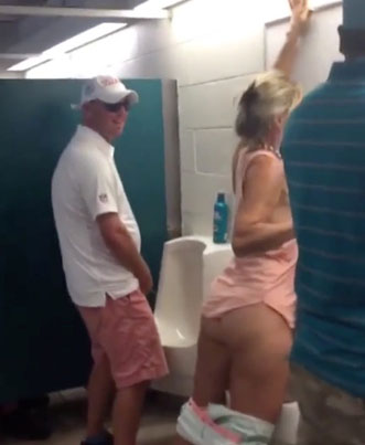 Wasted Miami Dolphins Fan Takes A Leak In A Men's Urinal (NSFW) 😪😪😪