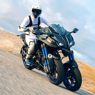 Yamaha's Badass New Three-Wheeled Sportbike 🌋🌋