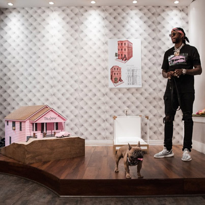 2 Chainz Orders A 15K Birthday Cake For His Dog