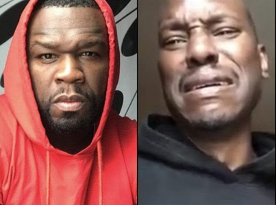 50 Cent Clowns Tyrese As He Cries Over Child Support Payments 😭😭😭