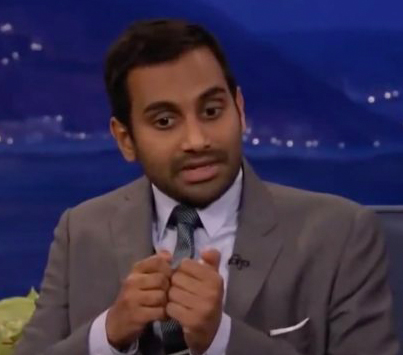 Aziz Ansari On What It's Like To Be Single Nowadays 😂😂😂