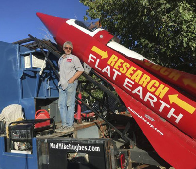 California Man Plans To Launch Himself Into Space To Prove Earth Is Flat 😭🚀🌎