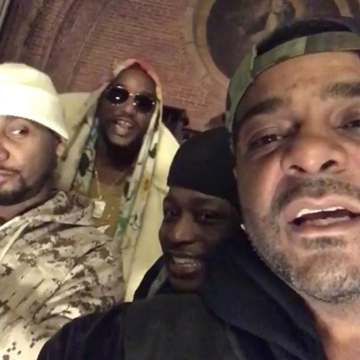 Camron & Jim Jones Squash Beef For Dipset Reunion 🙌🔥💯