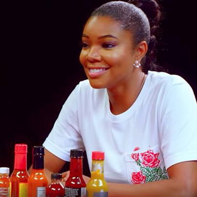 Gabrielle Union Impersonates DMX While Eating Spicy Wings 😅😍