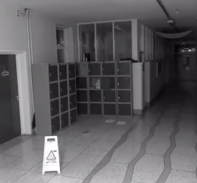 Haunted High School In Ireland Releases Security Cam Footage Of A Ghost 😳😱👻