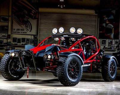 Jay Leno Is Going Tactical With Aerial's Dirty Brother The 'Nomad' ⛽⛽⛽