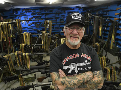 Meet The 'Most Armed Man In America' 😳😐