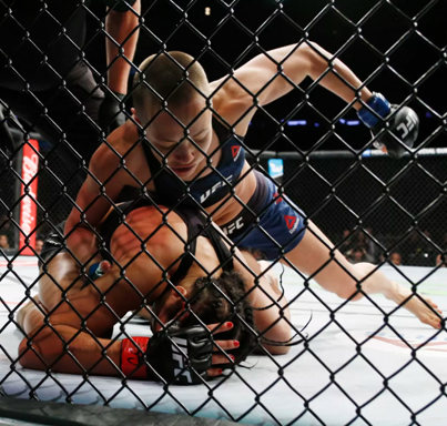 UFC 217: The Moment When Thug Rose Shocked The World 😱😱😱🌹🔥