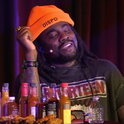 Wale Battles Spicy Wings Live On Hot Ones ✨👏