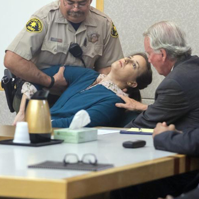 Woman Passes Out While Being Found Guilty Of Attempted Murder 😂😂😂