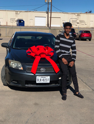 Real Kings Give: Father Buys A Car For His Daughter's BF For Christmas 😊💕