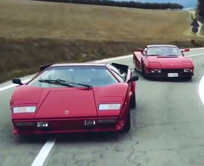 Iconic Fast Cars From The 80s Race Through The Italian Countryside 🔥😈✅