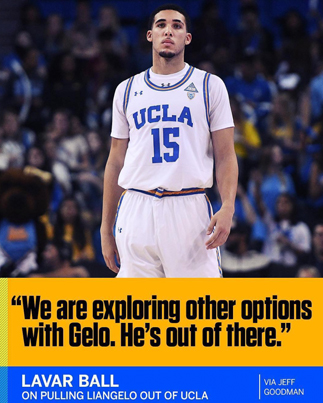 LaVar Ball Pulls LiAngelo Out Of UCLA Following His Suspension 🏀📓