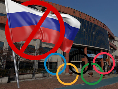 Russia Banned From 2018 Winter Olympics For Doping