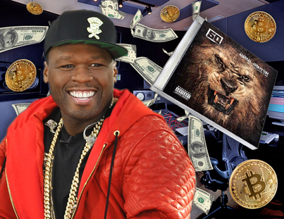50 Cent's Earned Millions Selling His Album For Bitcoin