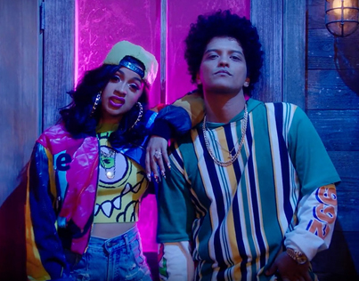 Finesse (Remix) by Bruno Mars x Cardi B (Official Music Video)