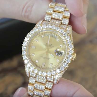 Mega Wealthy Hollywood Producer Shows Off His Hectic Watch Collection ✨⌚💎