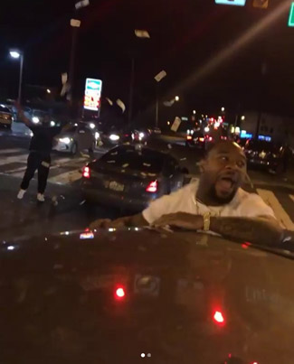 Philly Rapper RichBoyCOD Throws $5K In The Street Celebrating Eagles Win 😭😭💀