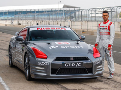 Racecar Driver Uses A Playstation Controller To Drive A Remote Controlled GT-R 😈