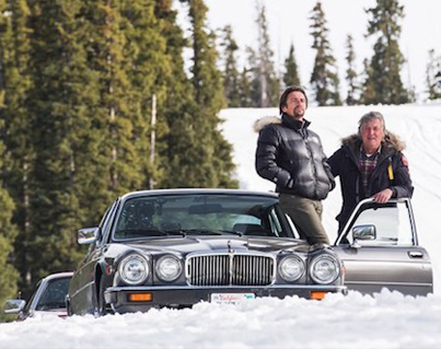 Skiing Is For Poor People: Real Ballers Hit The Slops In A Jaguar ⛷️💨💨💨