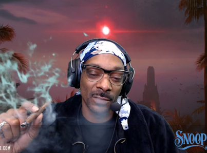 Snoop Starts Buggin' Out While Live-Streaming On Twitch 😂💀