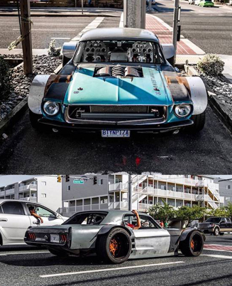 Super Widebody '67 Ford Mustang Coupe With LS1 Engine ⛽⛽⛽🔥🔥🔥