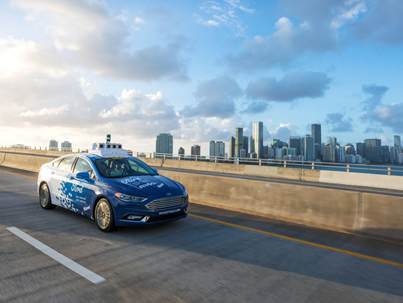 Fleet Of Ford Self Driving Cars Being Tested Out In Miami 🚘🤔