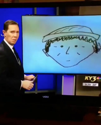 Is This The Worst Police Sketch Of All Time? 😂😂😂