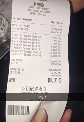 Jay-Z Racked Up A $100K Bar Tab In One Night 💰😈