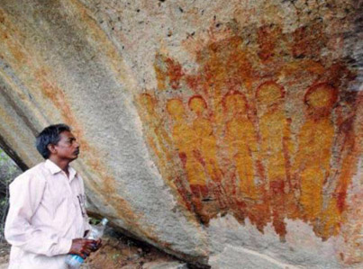 NASA To Investigate 10,000-Year-Old Rock In India That 'Shows Paintings Of UFOs'