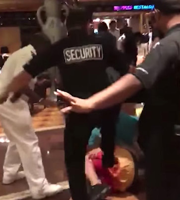 Security Guards Handle Violent Brawl On Cruise Ship Like A Bunch Of Goons 😭😭😭💀💀