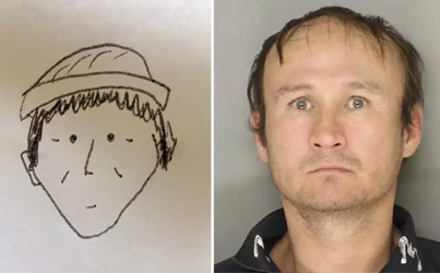 World's Worst Police Sketch Actually Helped Cops Catch A Suspected Thief 😱💀