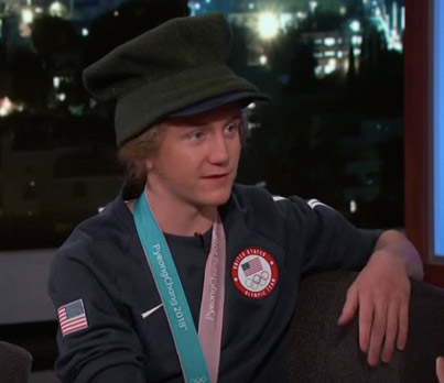 Youngest Olympic Snowboarding Champ Talks With Jimmy Kimmel 🏂🏅🇺🇸