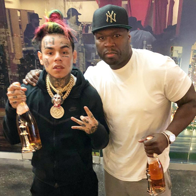 50 Cent Co-Signs Tekashi69 As The King Of New York 🤔🗽