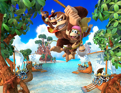 8 Minutes Of Donkey Kong Country: Tropical Freeze For Nintendo Switch 🍌🍌🍌