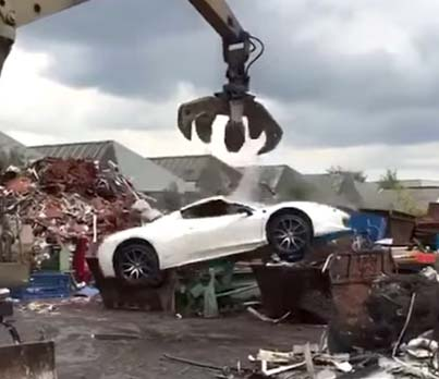 Ferrari 458 Spider Seized Unlawfully By Birmingham Police And Crushed 😱😡😢