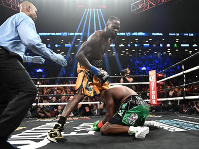 Deontay Wilder Knocks Out Luis Ortiz In The 10th Round 💣💥