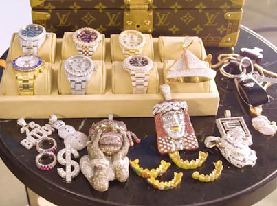 Lil Yachty Shows Off His Insane Jewelry Collection 😩💰💰