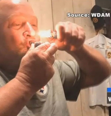 Miss. Police Chief Suspended After Video Surfaces Of Him Smoking Weed 😂💀