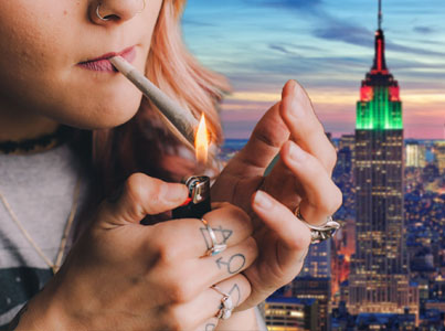 Study Shows New Yorkers Consume More Weed Than Any Other City In The World 👽🍁