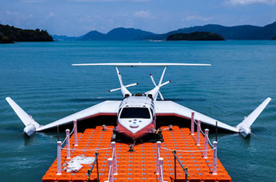 This Unique Sea-Craft Looks Like A Plane But Docks Like A Boat 😎😎